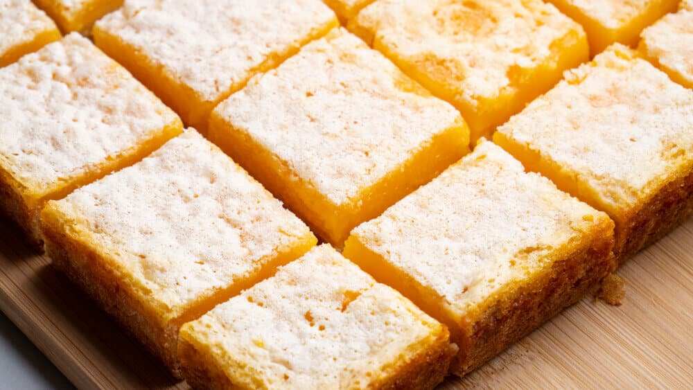 Perfect Lemon Bars | Easy Lemon Tart Recipe By Spice Bangla 2